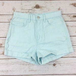 NWT American Apparel High Waist Shorts Size 28